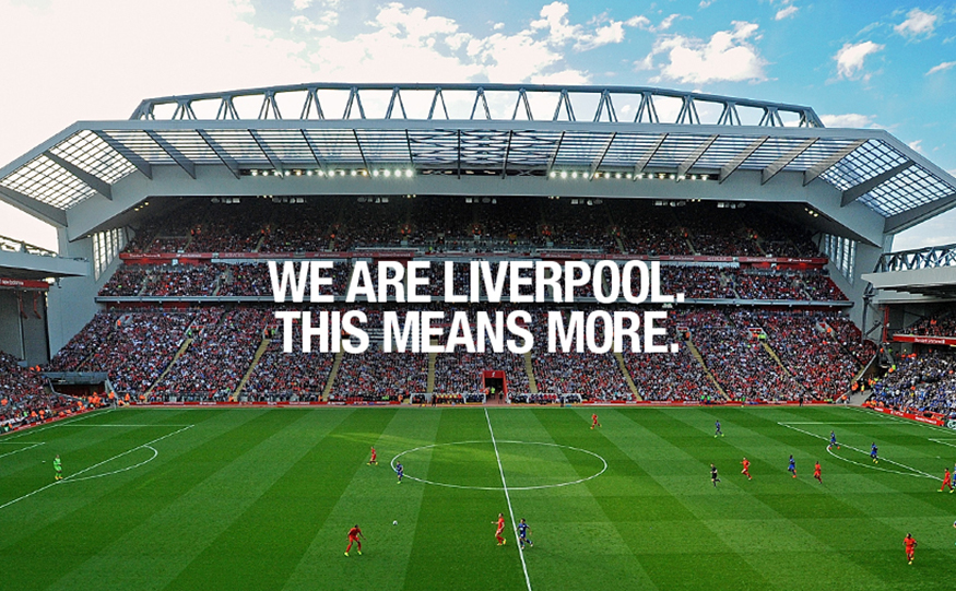 Octagon Develops Global Campaign Concept For Liverpool Fc